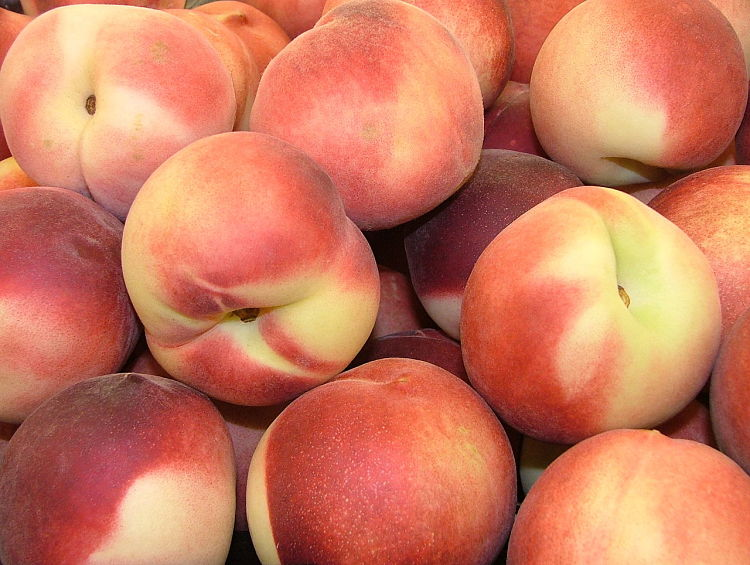 Peaches, nectarines, plums and other stone fruit are good organic buys to avoid chemical residues. Home grown is best.