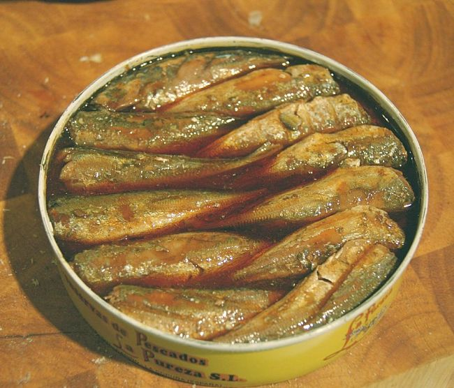 Fish canned in tomato and other sauces can be very high in calories, sugar and fat