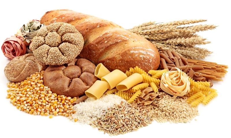 Wholegrains are mostly a good source of fiber in their natural state. But processing removes the bran which is rich in fiber and many of the nutrients in the germ