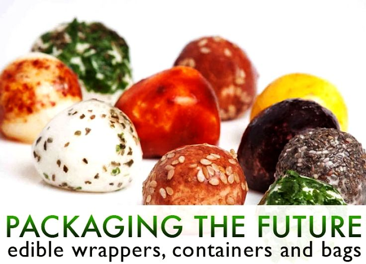 Edible pre-packed wrappings are definitely coming to a supermarket near you