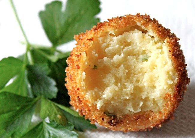 Potato Croquettes are a good example how many foods can be packaged with deep-fried coatings