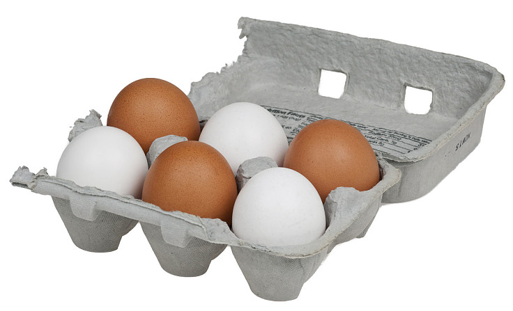 Eggs will keep at room temperature but are best keep in a cool part of the fridge - not in the door egg compartment, which is not cold enough