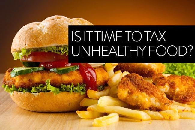 It is time to introduce a Fat Tax on unlhealthy food?