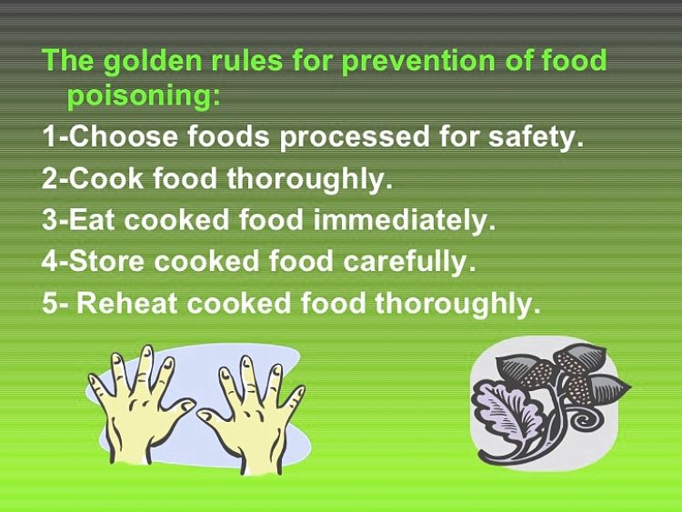 Best tips for avoiding food poisoning