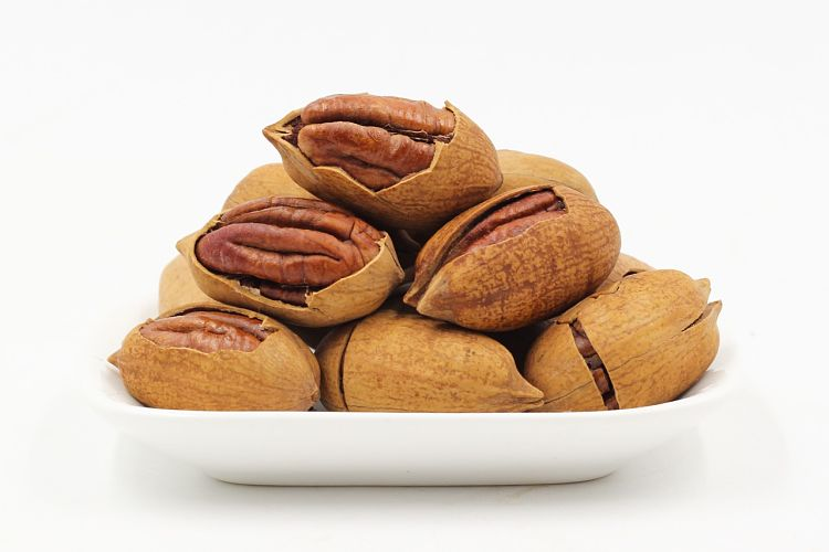Pecan nuts are very healthy, but like walnuts they conatin relatively high amounts of fat