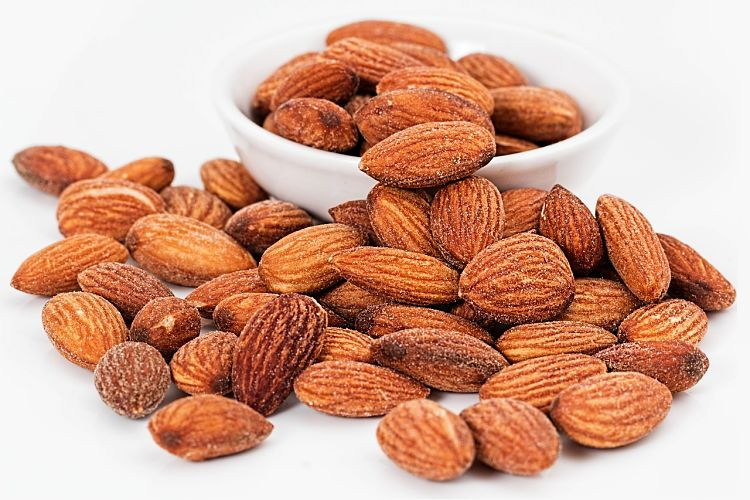 Almonds are a good general purpose nut with a huge range of uses. They have relative high protein levels and less fat than many other nuts