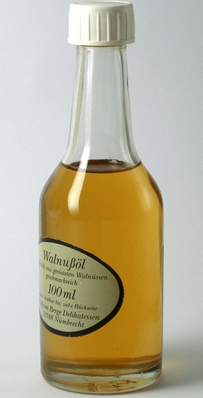 Many specialist oils such as walnut and other nut oils are great for adding flavor to dishes