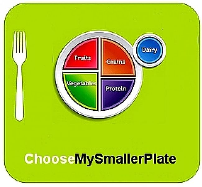 Simple reduction in portion sizes is the key to lowering calories. Reducing fat and increasing fiber requires better meal choices