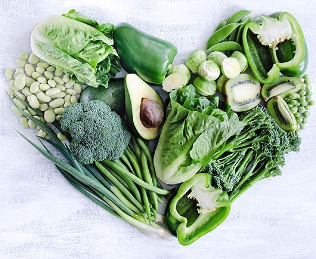 Leafy green vegetables are rich in fiber - see how your favorite ranks in the charts in this article