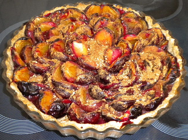Delicious Plum Tart - Terrific