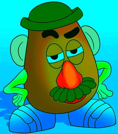 Mr Potato - The Good the Bad or the Ugly