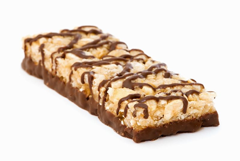Many snack bars contain high loads of sugar and fat