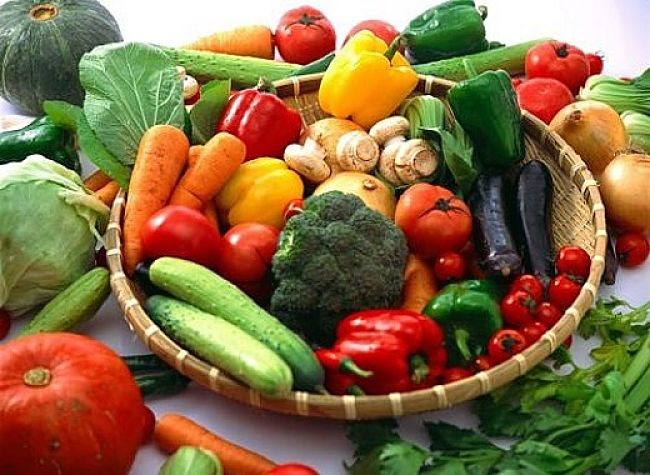 Fresh vegetables are rich in iron - get more details here