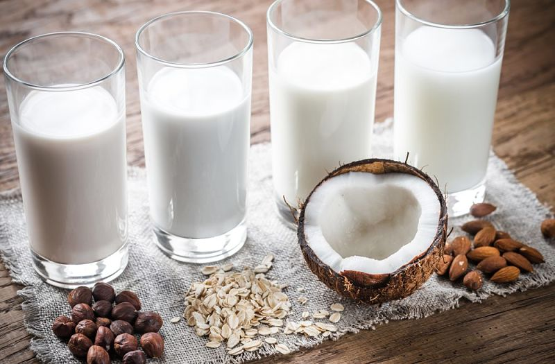 Homemade milk substitutes - see the grest collection of recipes in this article