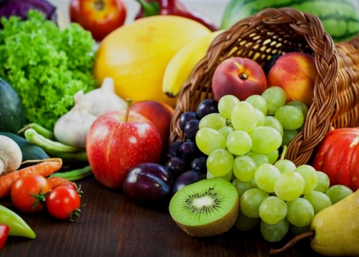 Fresh fruit and vegetables are the highest component in the Mediterranean Diet, eaten at every meal