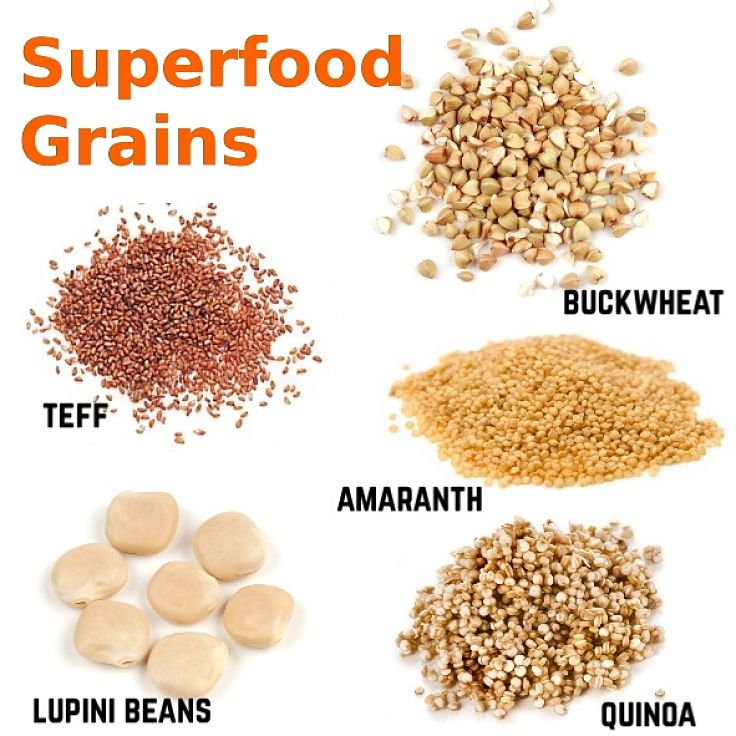 Grains and beans that are superfoods