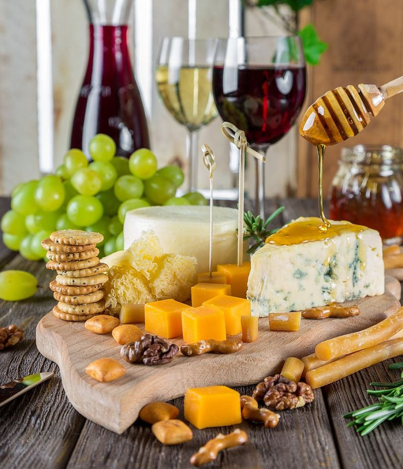Food pairing enhances the dining experience by finding a wine that matches and complements the taste of the food